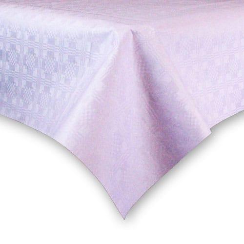 Mantel de Papel Lila (1 Unidad) 90 x 90 cm