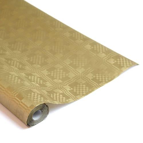 Rollo de Papel para Manteles Dorado 8 X 1,2 M (Metálico)