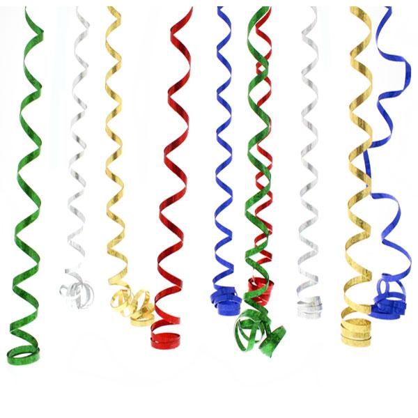 Serpentinas Prismáticas Multicolor - 10 Lanzamientos