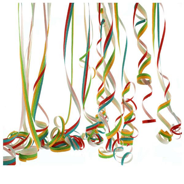 Multi Color Serpentinas - 40 Lanzamientos