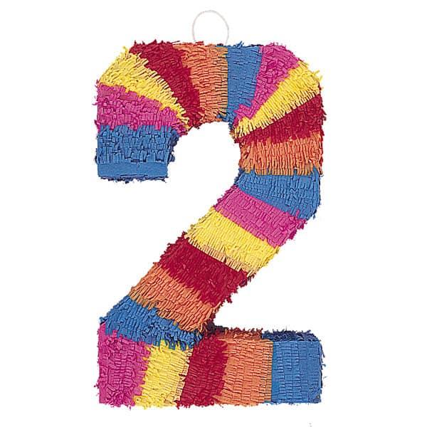 Piñata En Forma de Número 2