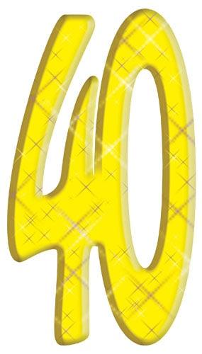 Número 40 - Figura de cartón
