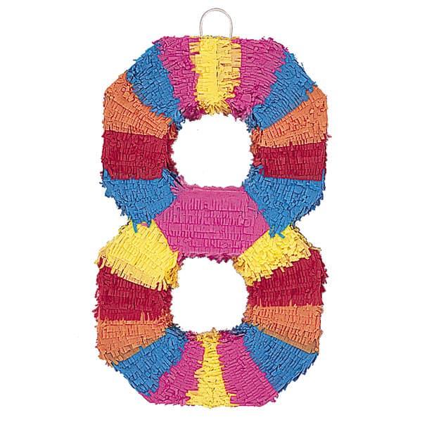 Piñata En Forma de Número 8