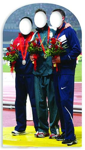 Foto Olímpico Siempre Eva Figura de Cartón Tamaño real