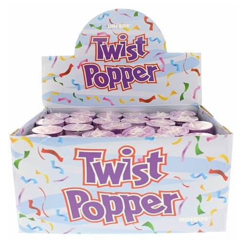 Fiesta Popper Confetti Shooter - 4 Pulgadas / 10Cm - Paquete De 24