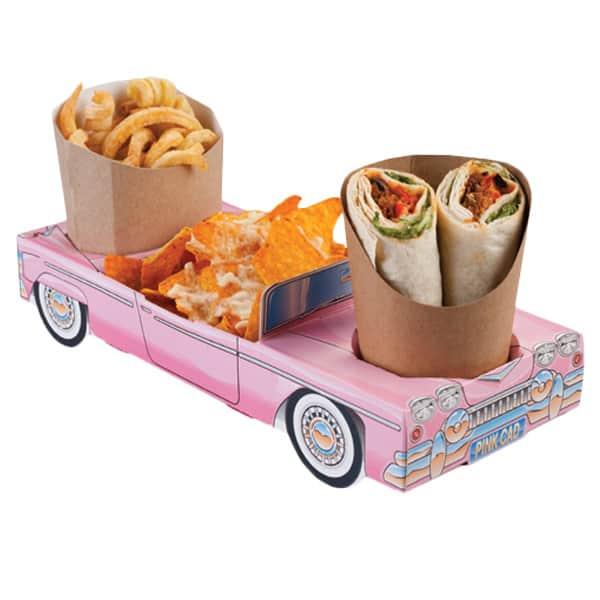 Caja De Cadillac Rosada - Unidad