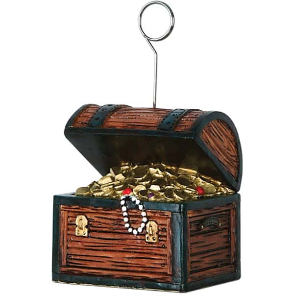 Caja de tesoro de Piratas Sostén de globo - Sostén de foto
