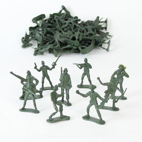 Soldado Plástico del Ejercito - Paquete de 50