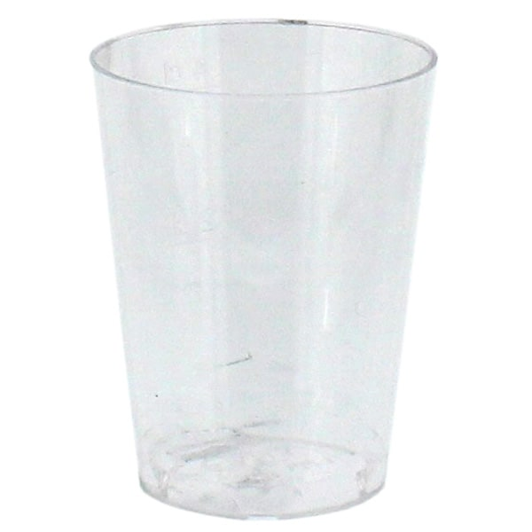 Vasos de Chupito Espíritu de Plástico Paquete de 100