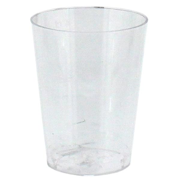Vasos de Chupito Espíritu de Plástico Paquete de 25