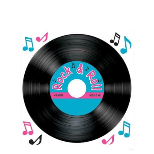 Disco de Rock y Roll de tira y coloque - Plancha individual