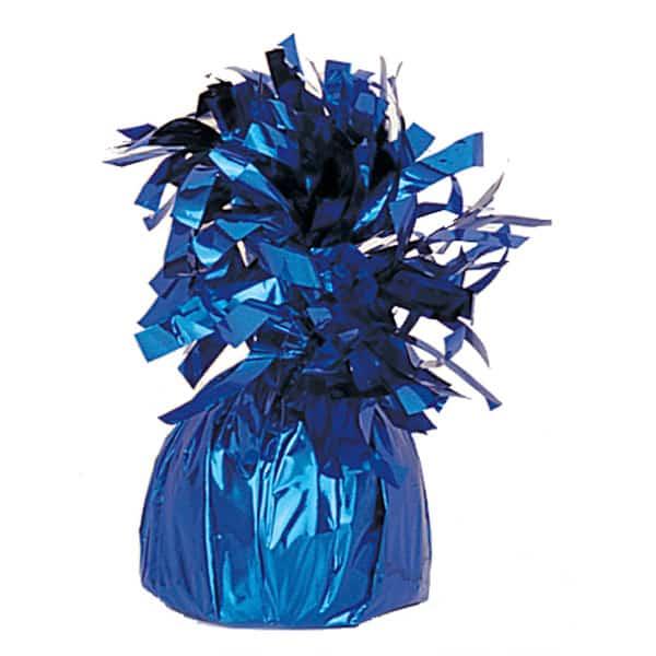 Peso para globos de foil Azul - Unidad