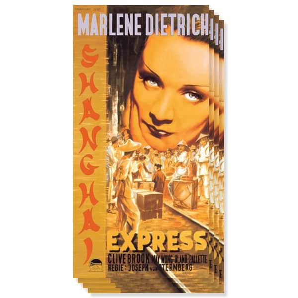 Shanghai Express Buffet Servilletas - Pack de 16 - 3 capas - 33cms