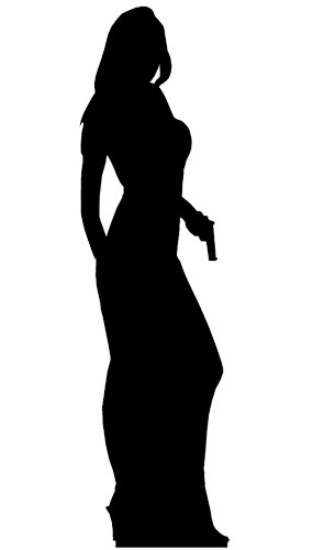 Señorita Edadnte Secreto - Figura de cartón a tamaño real