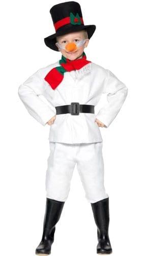 Disfraz Muñeco de Nieve - Kids 6-8 Años Talle M