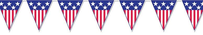 Banderin del Espiritu de América de 366cm