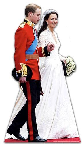 La boda real de Lifesize recorte de cartón - 182 cm