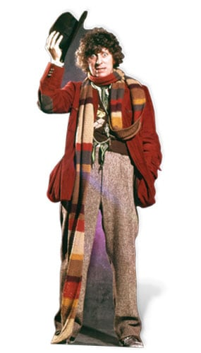 Tom Baker El Cuarto Doctor 181cm Tamaño real Figura de cartón