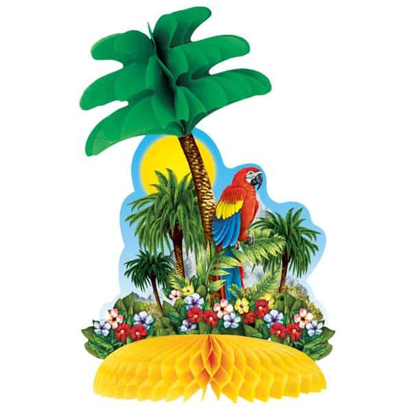 Centro de mesa de Panal de isla Tropical - Unidad