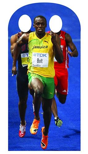 Usain Bolt 179cm Siempre Eva Tamaño real Figura de cartón