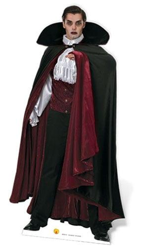 Vampiro De Tamaño Natural Recorte De Cartón 186Cm - Pre-Orden