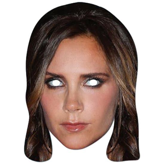 Victoria Beckham Persona Famosa Fiesta Máscara - Unidad