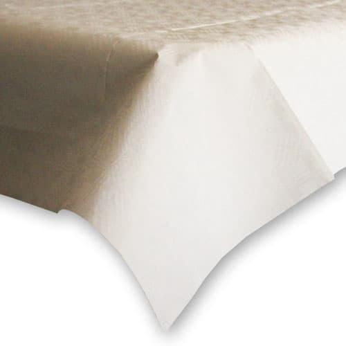 Mantel de Papel Blanco (1 Unidad) 90 x 90 cm