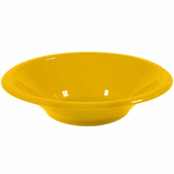 Bol De Plástico Amarillo Para Fiestas 355ml - Unidad
