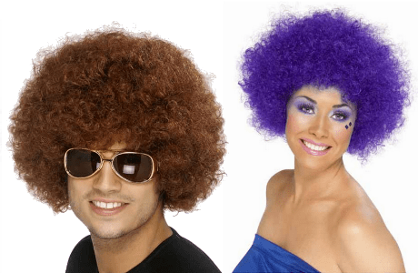 Afro pelucas