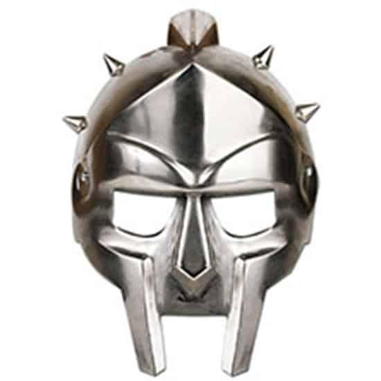 Gladiador Casco Máscara de Cartón - Unidad