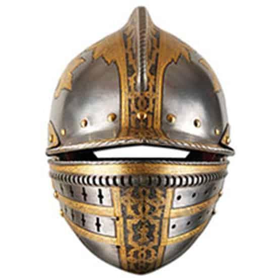 Medievales Casco Máscara de Cartón - Unidad