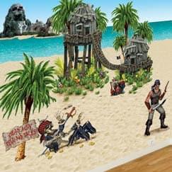 Setters de escenas de piratas