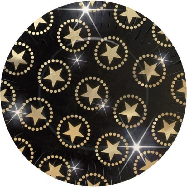 Estrella de Atracción Plato de Papel - Unidad