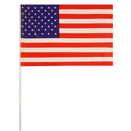Bandera de Celebrada Mano de Estados Unidos - Unidad