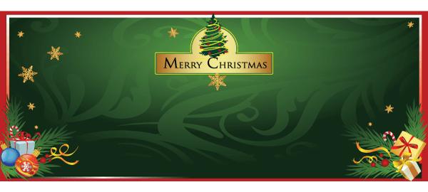 Banners personalizados de Navidad