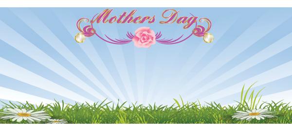 Banners personalizados del día de las madres