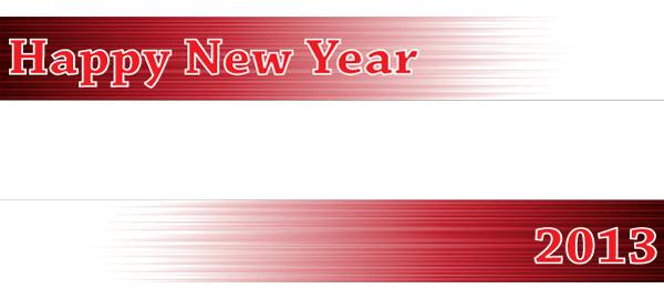 Banners personalizados de año nuevo