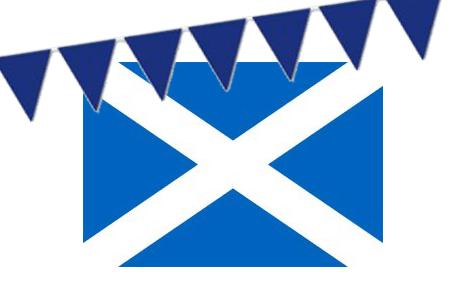 Día de San Andrés - Suministros para fiestas en Escocia