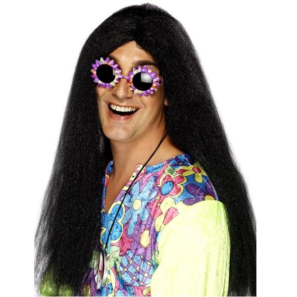 Peluca Hippy Negro