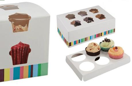 Cajas de pastel