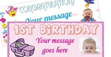 Pancartas Personalizadas Para Bebés