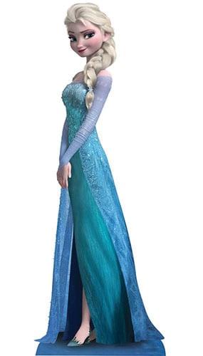 Disney Frozen Elsa 160cm Figura de cartón tamaño natural