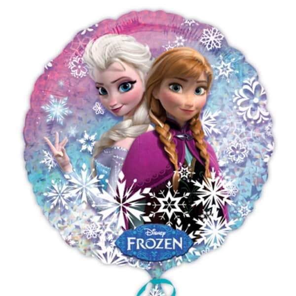 Disney congelado Globo Foil Ronda - 18 pulgadas / 45 cm