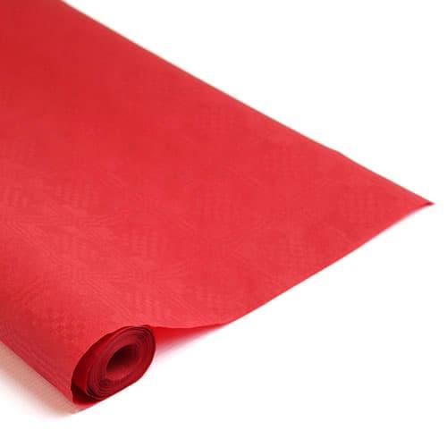 Rollo de Papel para Manteles Rojo 8m X 1.18m