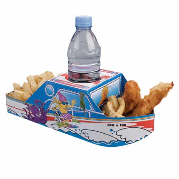 Sun N Fun Boat Combi Meal Box - Single