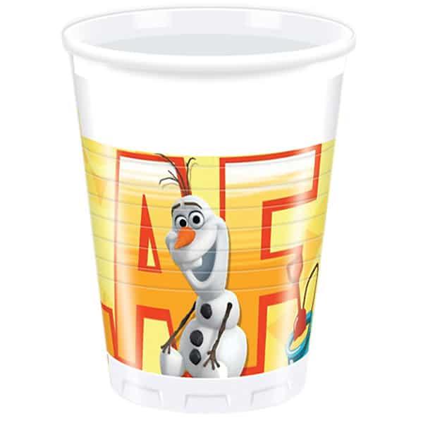 Disney Frozen Summer Olaf 200ml Vaso de Plástico - Unidad