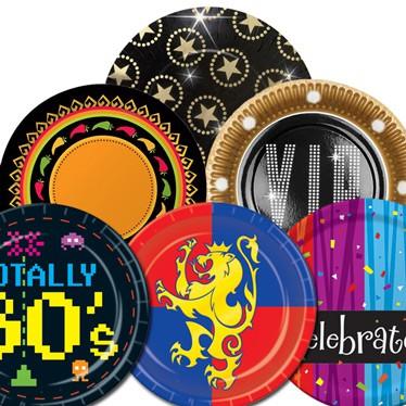 Platos de fiestas temáticas para adultos