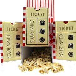 Accesorios para fiestas temáticas de Hollywood