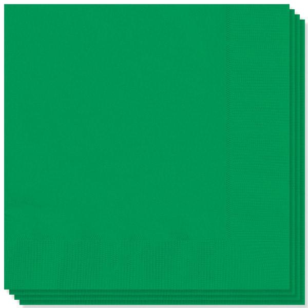 Del verde esmeralda 2 Ply Servilletas - 13 pulgadas / 33 cm - Pack de 20