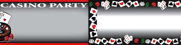 Banners personalizados de casino